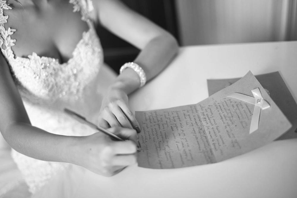 письмо невесты жениху