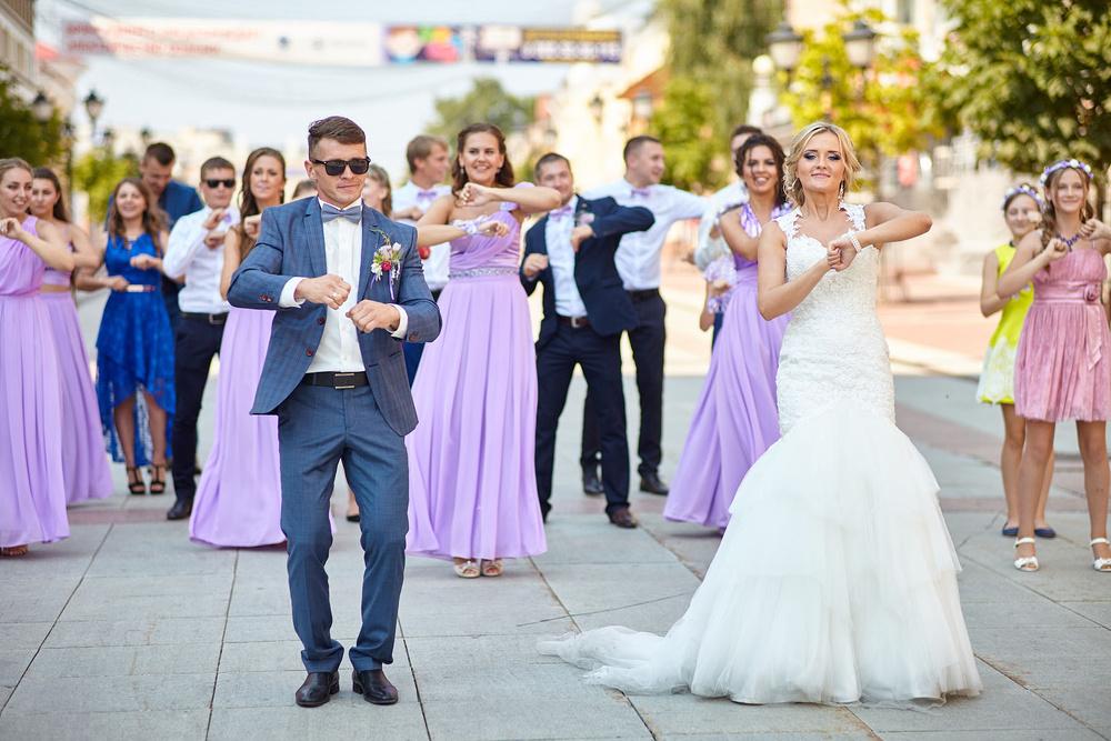 свадебный флешмоб брянск