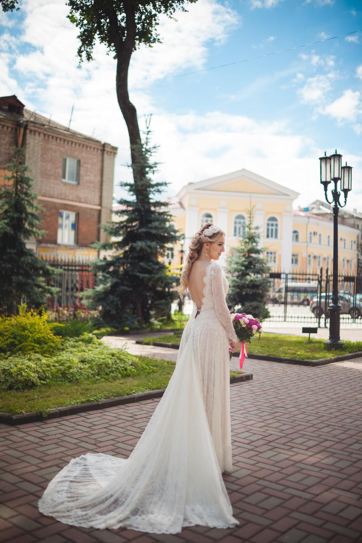 свадебное платье шантильи