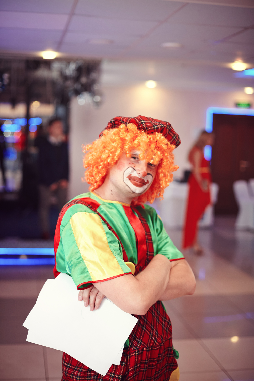 свадебный клоун