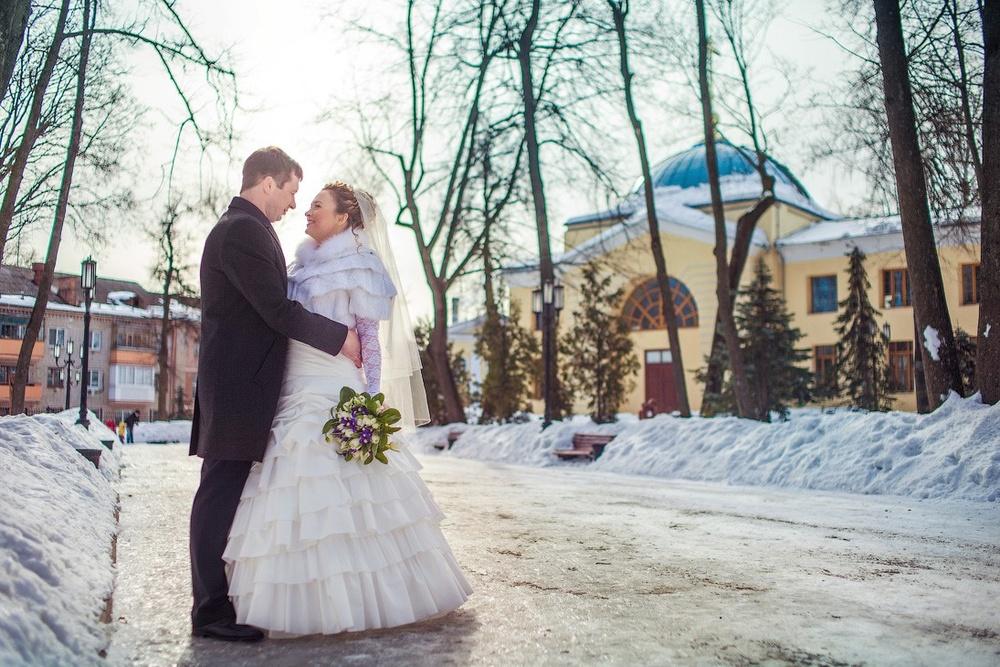 Парк им. А. К. Толстого Брянск зимой, Свадьба