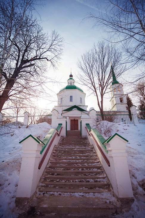 Храм Тихвинской иконы Божией Матери Брянск