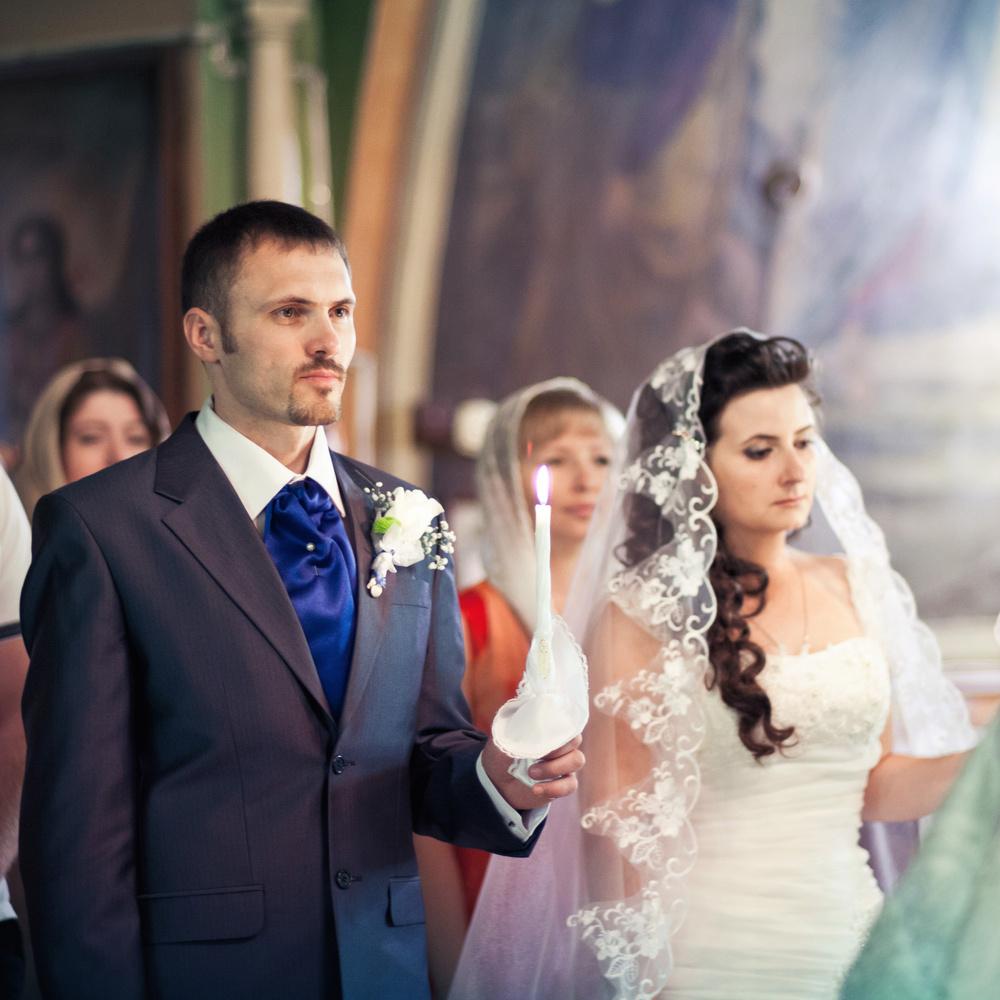 Венчание Виталия и Виктории