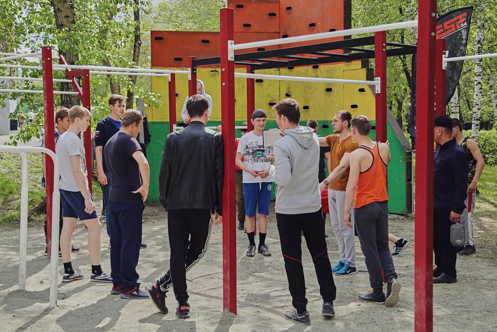 Открытие летнего экстремального сезона в Барабинске