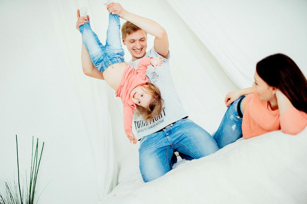 Надя, Антон и Валерия