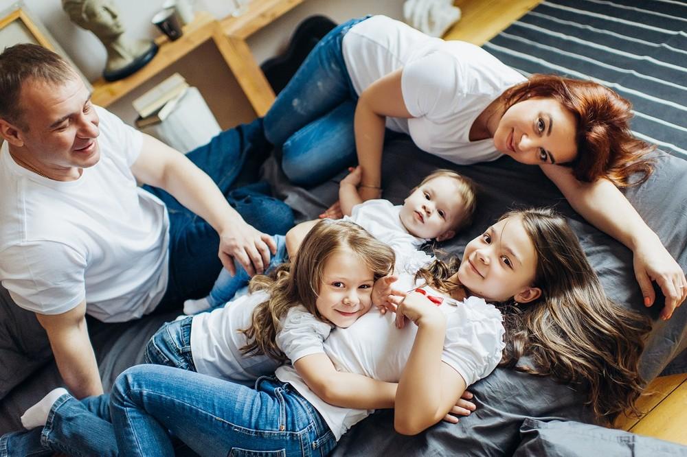 О большой семье