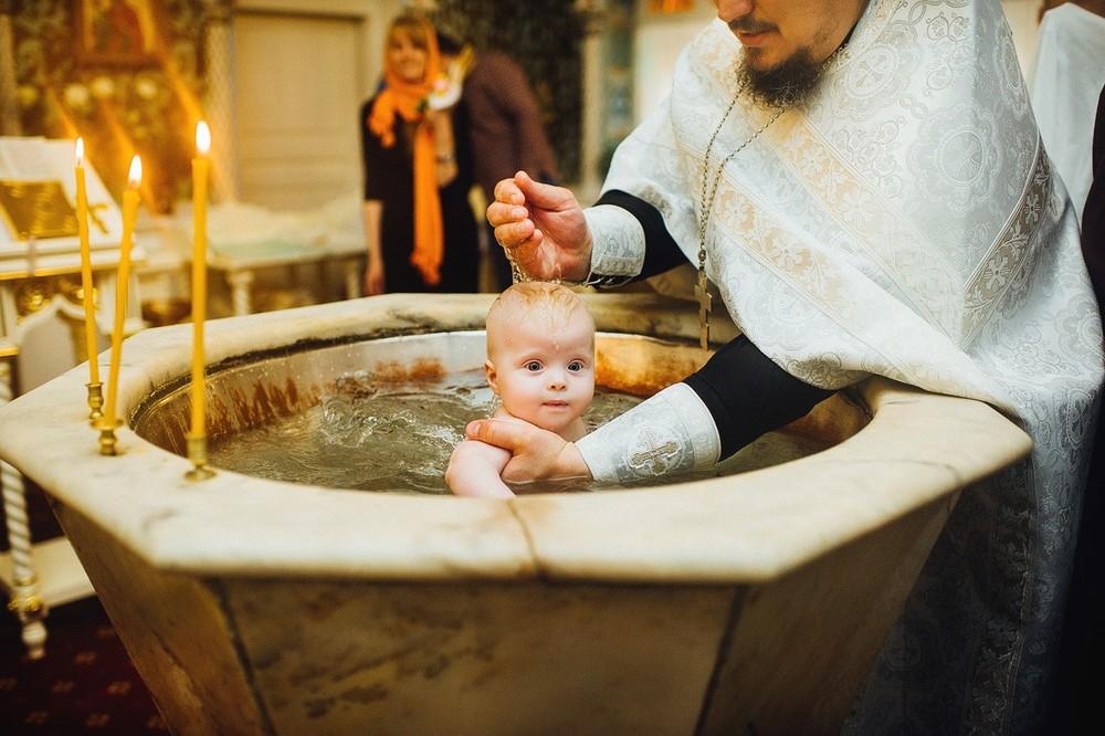 Крещение Алёны