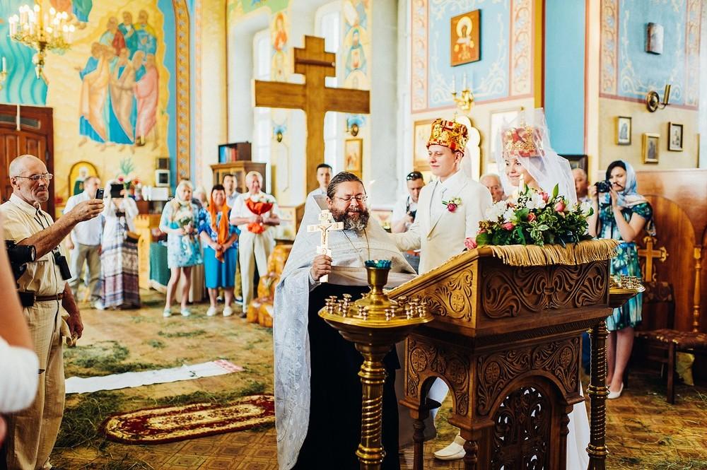 Венчание Дмитрия и Катерины