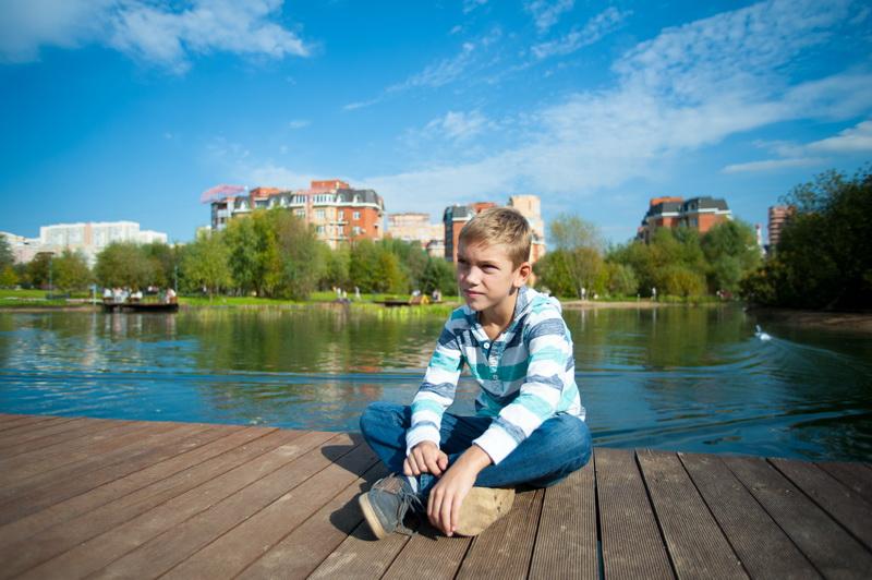 Детская фотосъёмка на природе