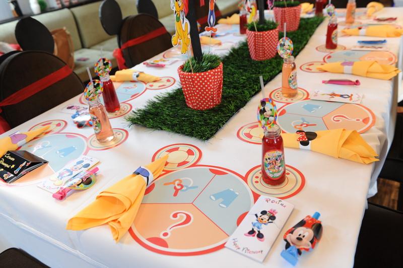Волшебный праздник в клубе у Микки Мауса