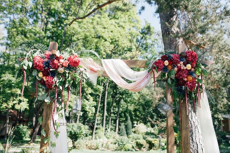 Саша ♡ Аня. Яркая богемная свадьба
