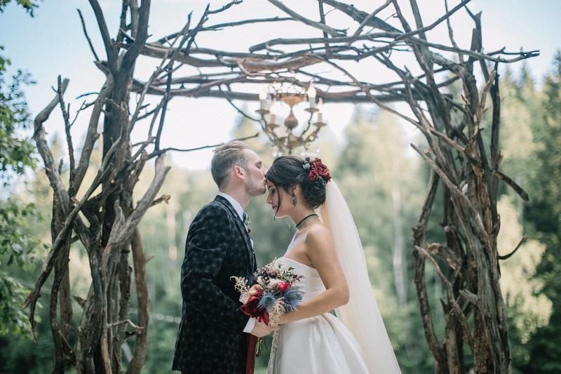 свадьба лесная дача