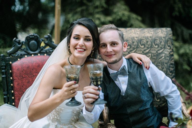 свадьба на лесной даче