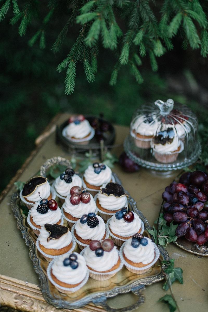 сладки стол на свадьбе