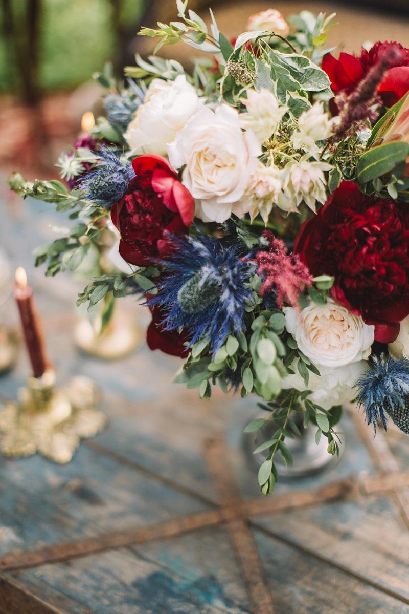 флористика на лесной свадьбе