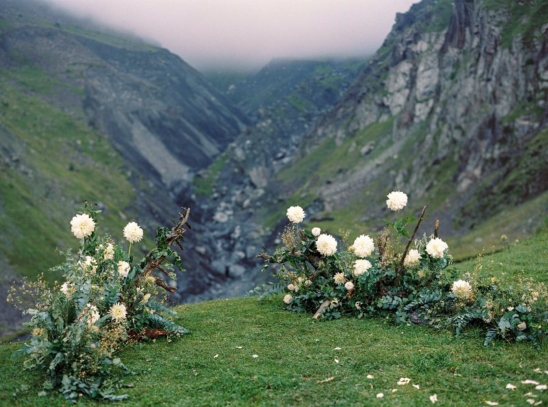 свадебная регистрация в горах
