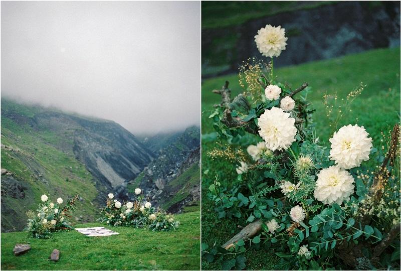 оформление свадебной регистрации в горах