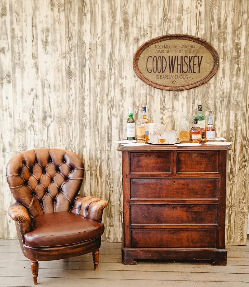 оформление виски бара