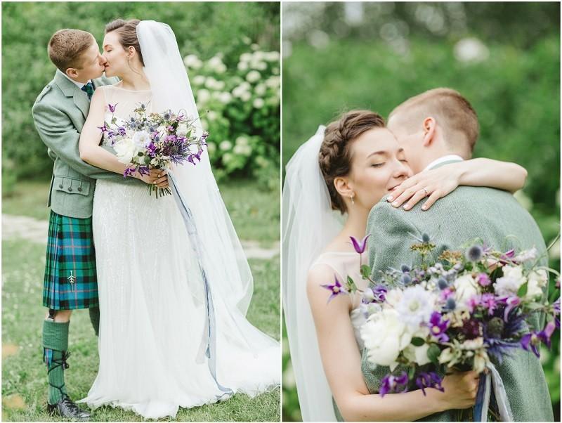 русско - шотландская свадьба