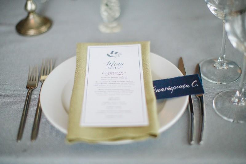 декор стола на свадьбе