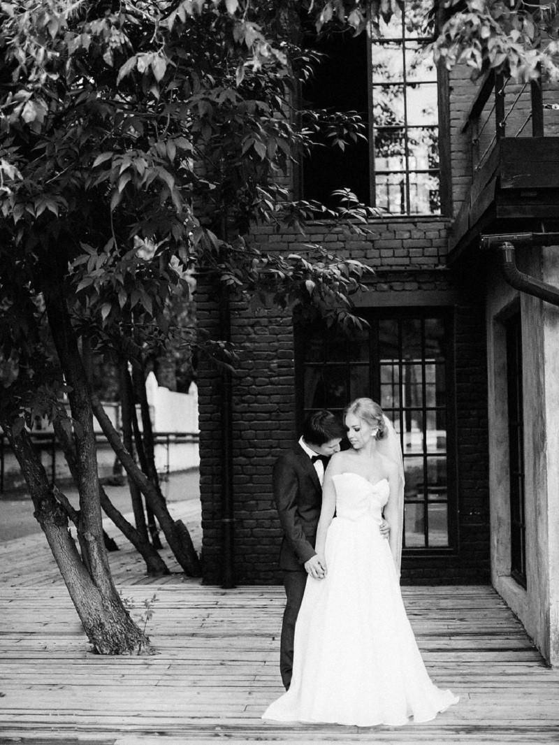 Кирилл ♡ Алена. Элегантная свадьба в лофте
