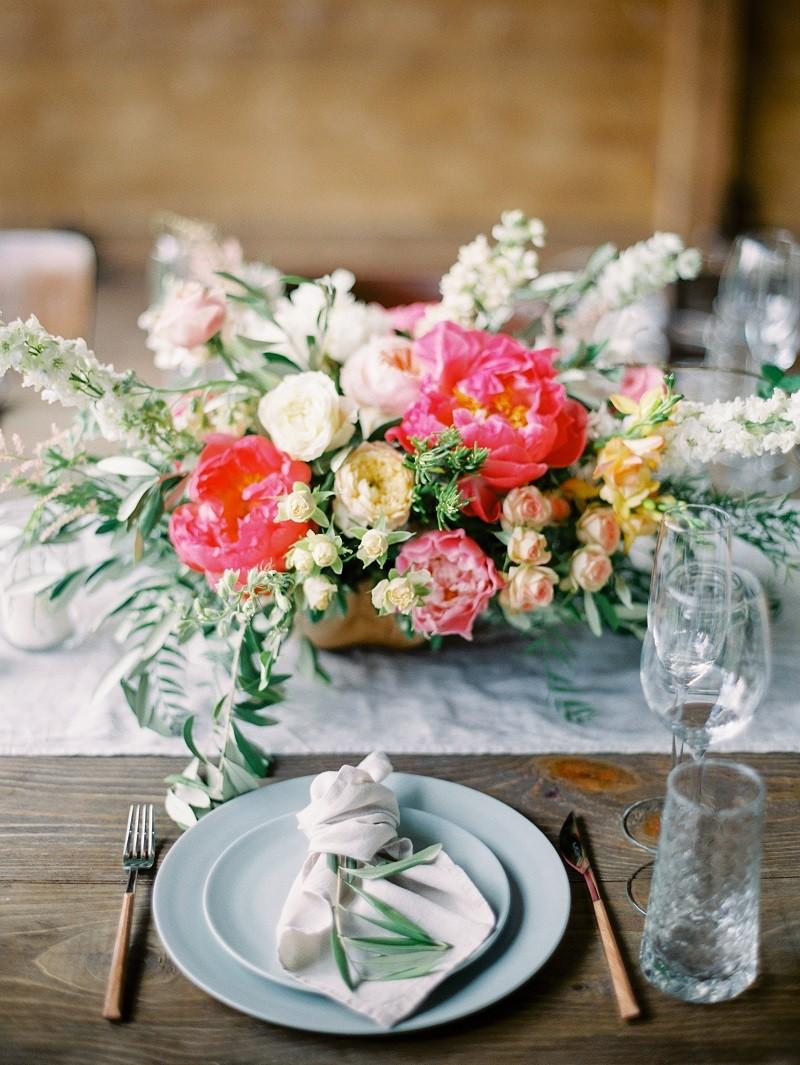 сервировка на свадьбе