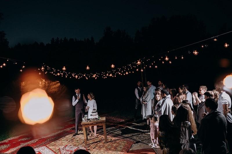 Паша ♡ Аля. Летняя свадебная вечеринка в кантри клубе.