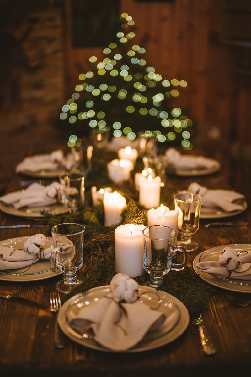 Рождественский ужин в мастерской
