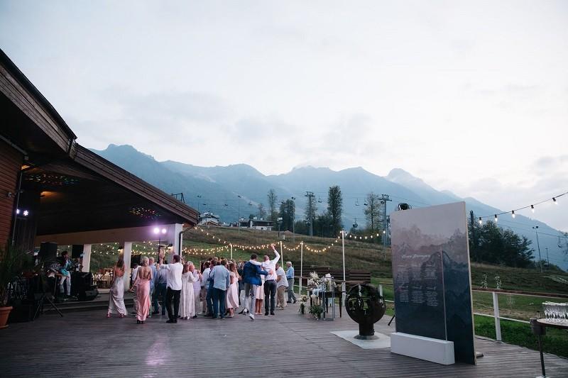 Влад ♡ Алена. Свадьба в горах