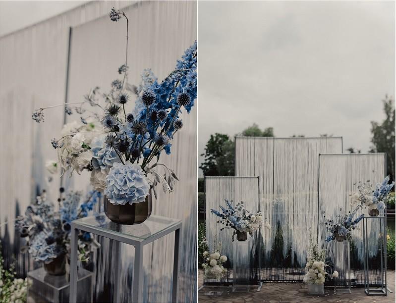Паша ♡ Даша. Эстетика оттенков синего