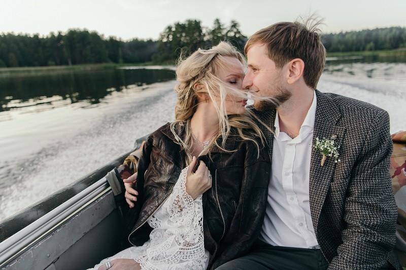 Виталий ♡ Даша. Бохо свадьба в Лес и море