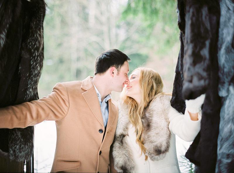 зимняя волшебная love story