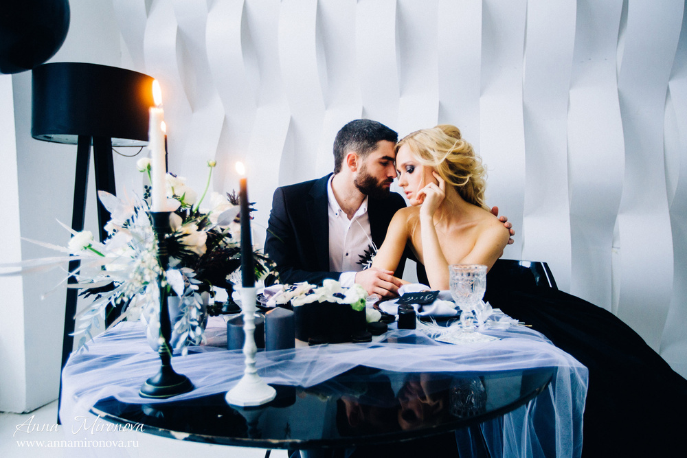 Black Wedding Антона и Валерии