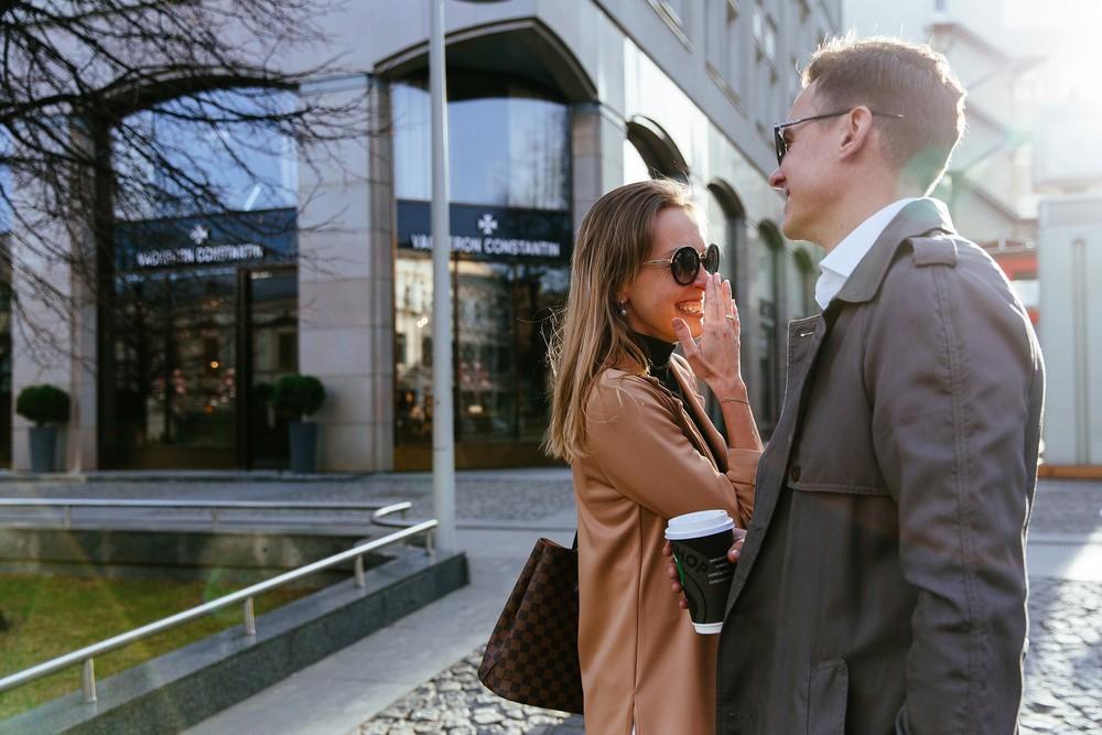 Lovestory Глеба и Марины, прогулка по Москве