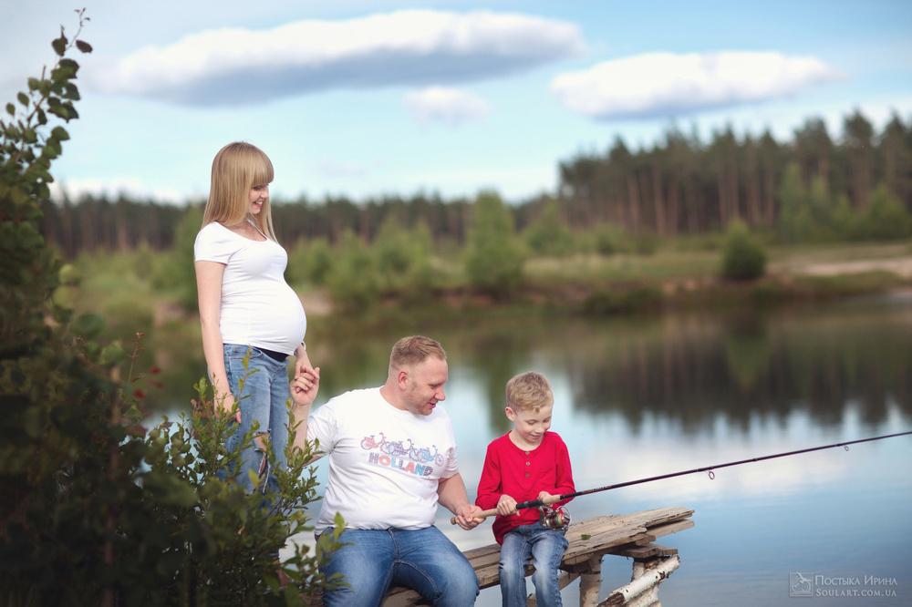 семейная фотография у Постыка