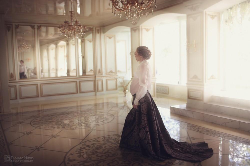 фотосессия беременности в  Leona Stage нн