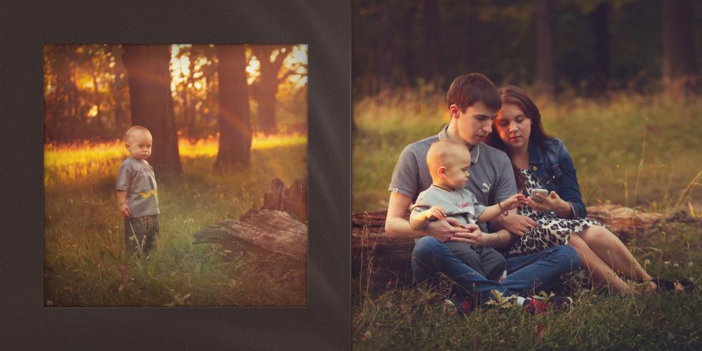 семейная фотосессия книга