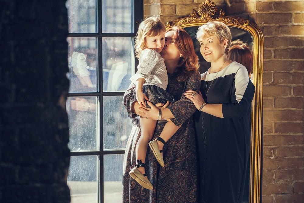 Фотосессия для бабушки