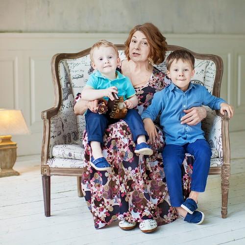 Наталья и семья