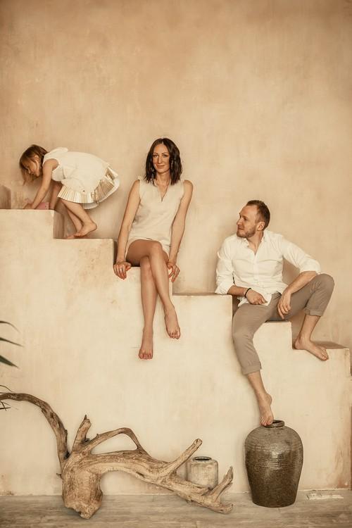 Николай, Ирина и Анюта
