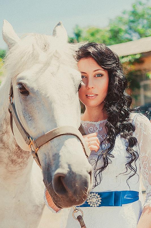Любовь и лошади)
