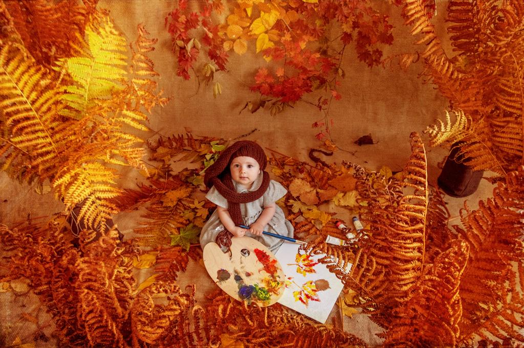 Нарисуй мне, художник, осень!