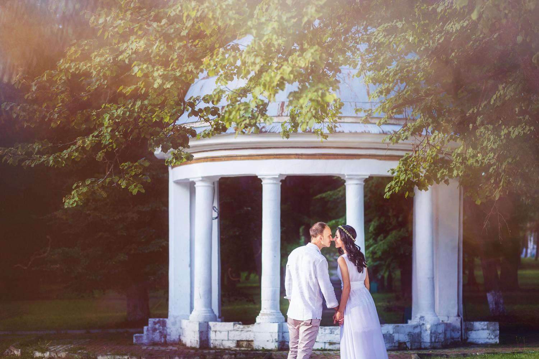 Свадебная фотосессия в Марфино