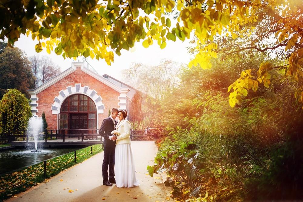 Свадебная фотосессия в Аптекарском огороде