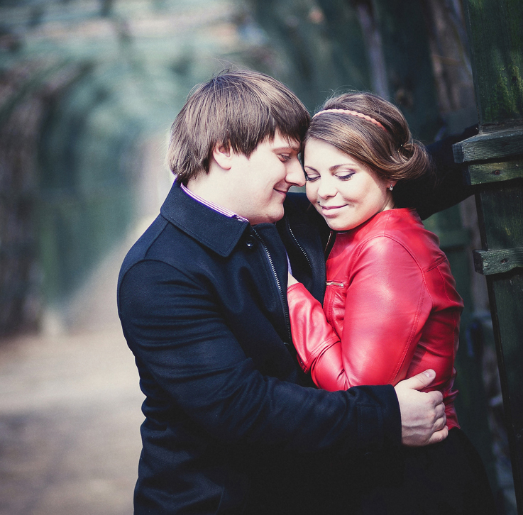 Фотосессия Love Story в Архангельском