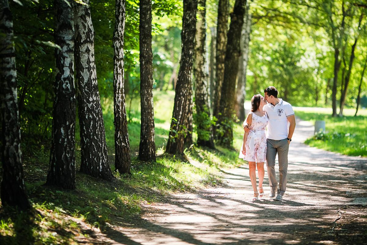 Фотосессия Love Story в Сокольниках