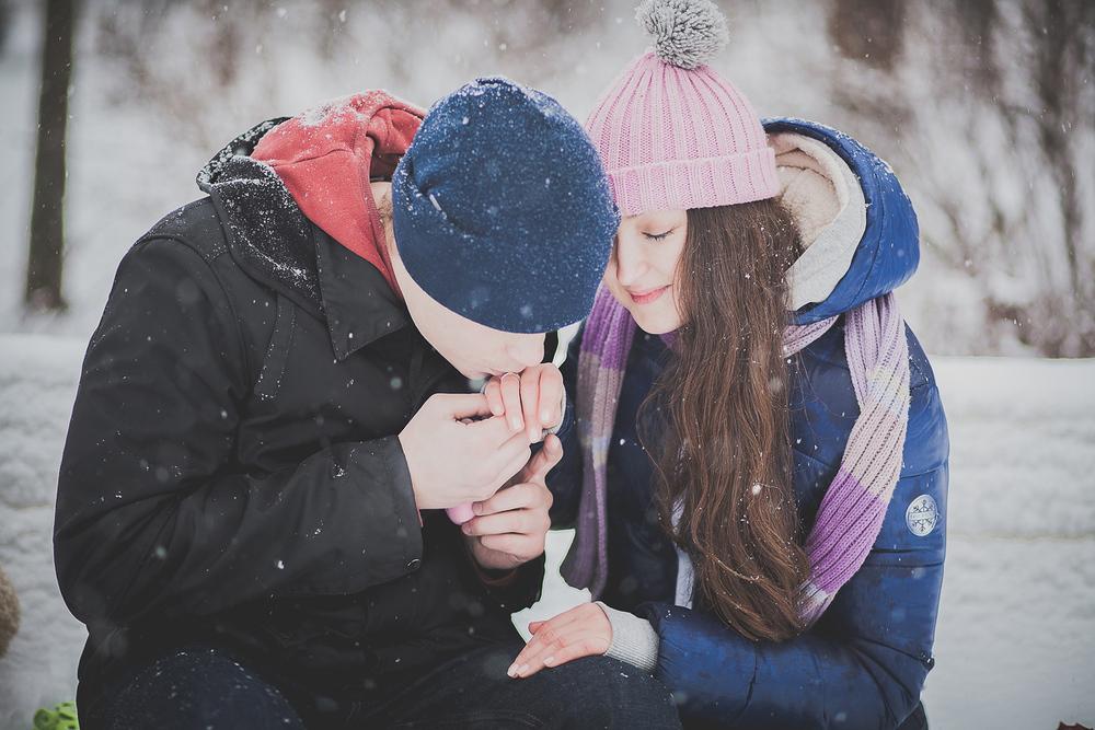 Зимняя Love Story Парк Новодевичьи пруды