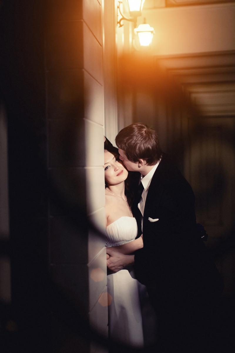 Свадебная фотосессия в отеле Корстон