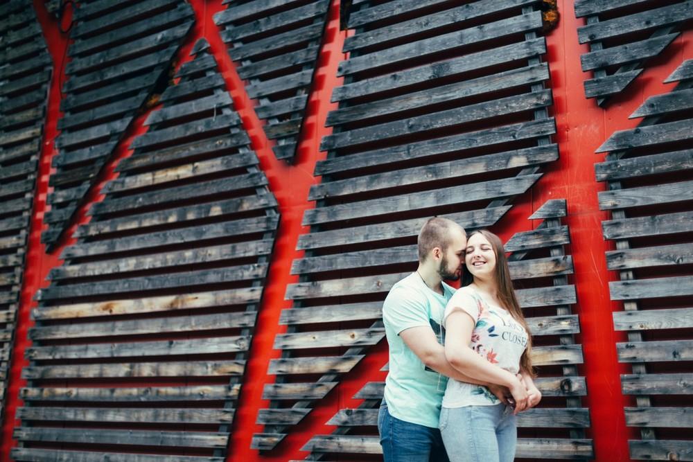 Фоссессия Love Story в Парке Горького