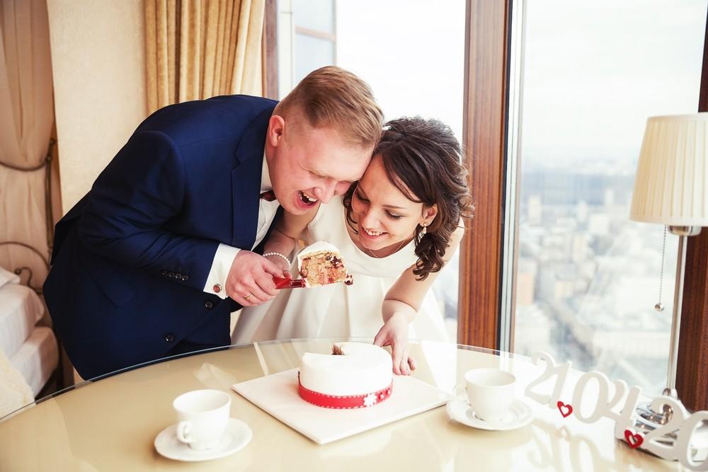 Свадбеная фотосессиия в отеле